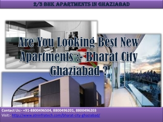 Bharat City lavish housing project Ghaziabad