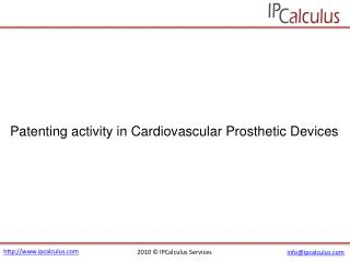 IPCalculus - Cardiovascular Prosthetic Devices Patenting Act
