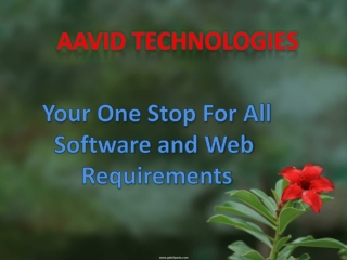 Aavid Technologies - Software and Web Development Company