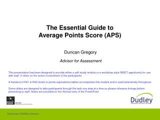 The Essential Guide to Average Points Score APS