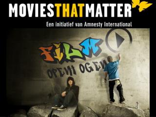 Introductie Movies that MatterMovies that Matter EducatieLesmateriaalSchool Film Festivals