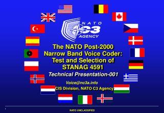 CIS Division, NATO C3 Agency