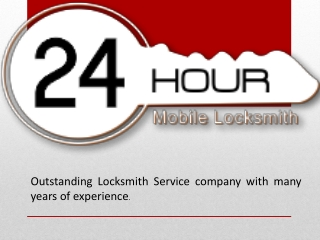 24Hours Mobile Locksmith