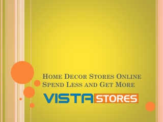 Save Money on Home Decor Shopping Online