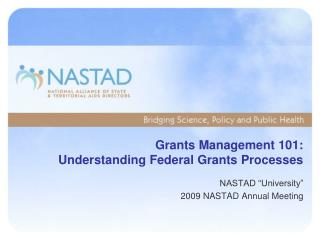 Grants Management 101: Understanding Federal Grants Processes