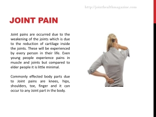Best supplements for joint pain
