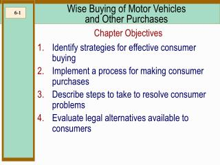 Wise Buying of Motor Vehicles