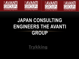 Japan Consulting Engineers the Avanti Group: Trykking