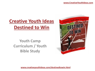 Youth Camp - Destined to Win