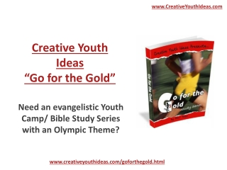 Youth Camp - Go for the Gold