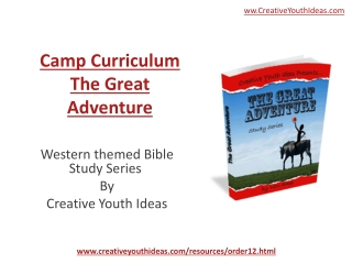 Youth Camp - The Great Adventure