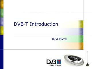 DVB-T Introduction