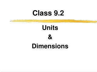 Class 9.2