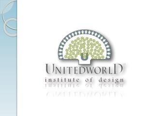 Fashion Design at Unitedworld Institute of Design