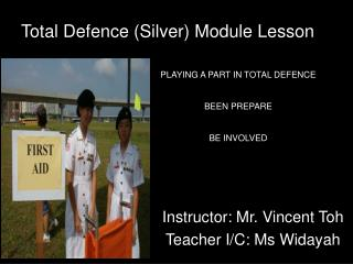 Total Defence Silver Module Lesson