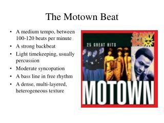 The Motown Beat
