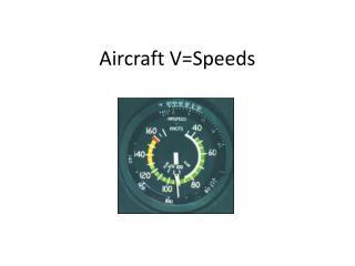 Aircraft VSpeeds