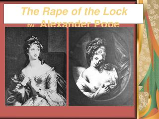 The Rape of the Lock by A