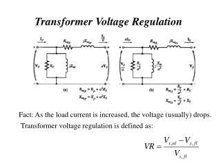 Transformer Voltage Regulation