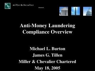 Anti-Money Laundering Compliance Overview
