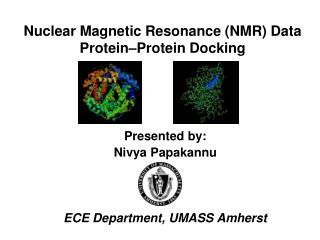Nuclear Magnetic Resonance NMR Data Protein