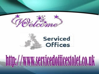 Cheap serviced offices