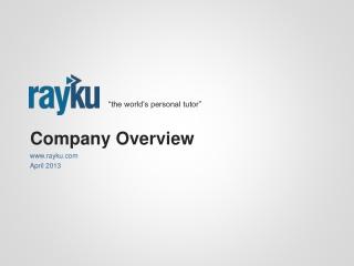 Rayku Overview