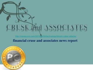 financial cruse and associates news report, Major Bitcoin ut