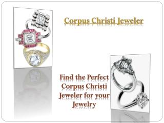 Corpus Christi Jeweler