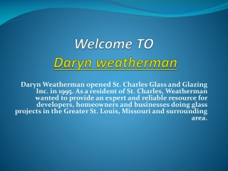 Daryn Weatherman