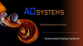 AD Systems - Digital Outdoor Billboards for Business Growth