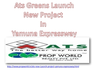 Ats New Project Yamuna Expressway 9910006454 Ats New Launch