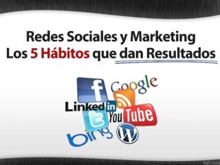 Marketing y Redes Sociales - Genera tráfico y ventas Ahora!!