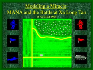 Modeling a Miracle: MANA and the Battle at Xa Long Tan 18 AUGUST 1966