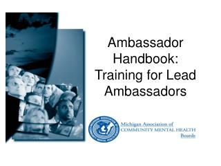 Ambassador Handbook:  Training for Lead Ambassadors