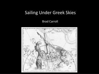 Sailing Under Greek Skies