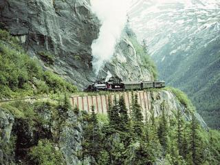 Amazing alska railway photos