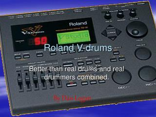 Roland V-drums