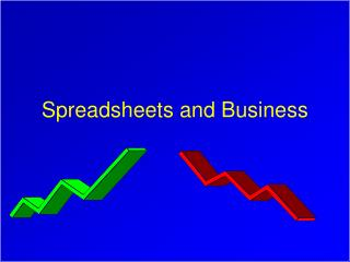 Spreadsheets and Business