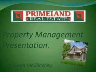 Property Management Presentation.
