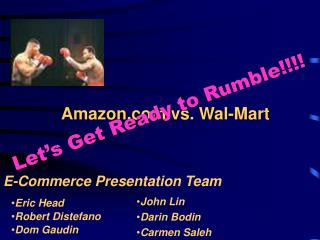 Amazon vs. Wal-Mart
