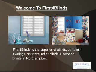 Curtains and blinds showroom in Northampton