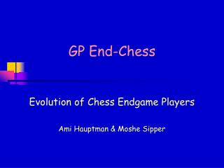 GP End-Chess