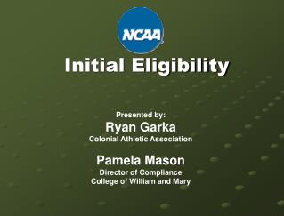 Initial Eligibility