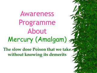 Awareness Programme About