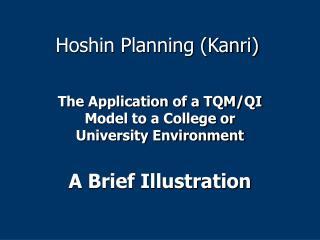 Hoshin Planning Kanri