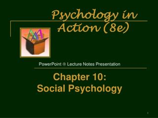 Psychology in Action 8e