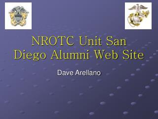 NROTC Unit San Diego Alumni Web Site