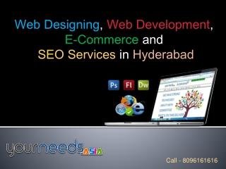 Best Website Designing Company, Hyderabad SEO Services
