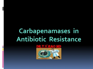 Carbapenamases in Antibiotic Resstance